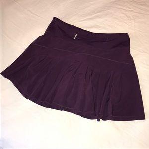 Purple lululemon tennis skirt
